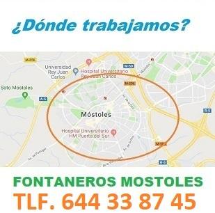 Fontaneros Mostoles Calle Hermanos Pinzon