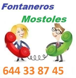 Telefono de la empresa fontaneros Mostoles