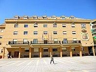 Ayuntamiento en la localidad de Móstoles